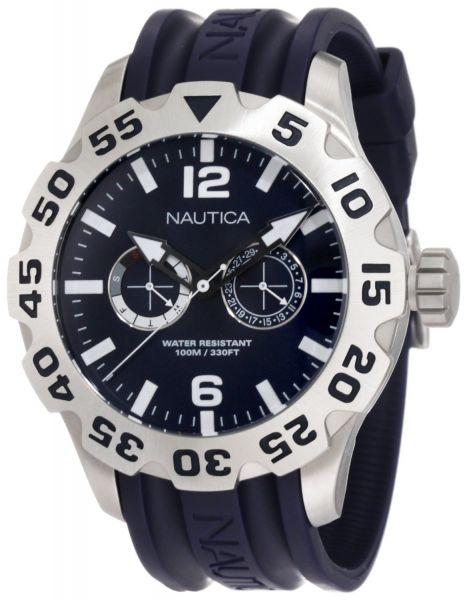 115c7e7654d Relógio Nautica Mens Masculino N16601g Bfd 100 Multi Azul ...