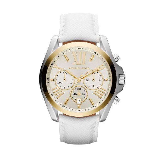 eabc1cbd628 Relógio Fem Michael Kors MK2282 Branco E Dourado Original. Relógio Fem  Michael Kors. RELÓGIOS FEMININOS página 2 Realizador De Sonhos