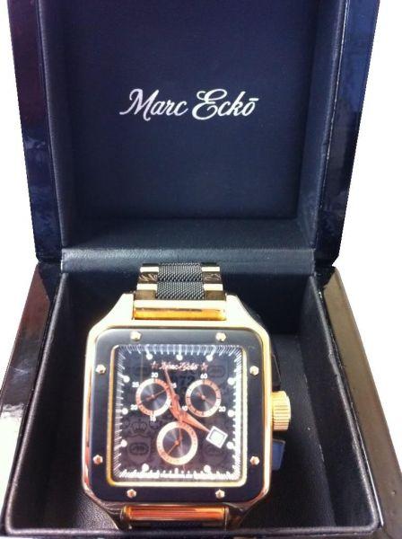 bf0397bdfe1 Marc Ecko Novo Elite Rose Gold E37537g1 Serie Limitada - Realizador ...