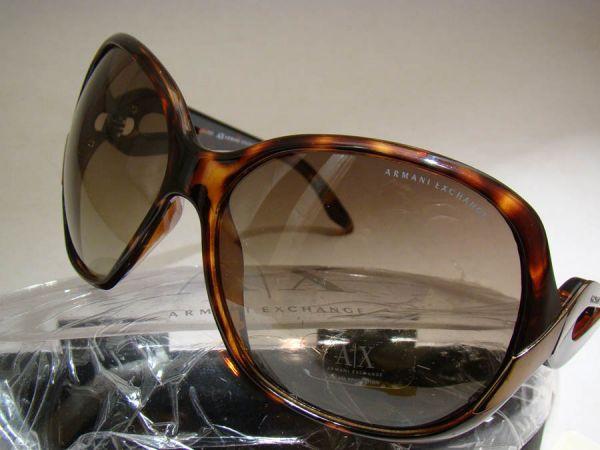9c06fb6a178 óculos De Sol Armani Exchange Feminino Preço