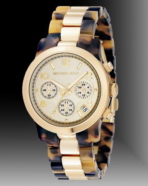 dc5f2d2e05734 Relógio Michael Kors Mk5138 Tartaruga Dourado - Realizador De Sonhos