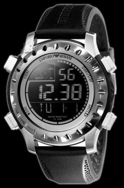 d610cbc18cb Relógio Emporio Armani Ar5852 Digital Original Com Garantia ...