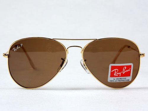 Óculos de Sol Aviador Ray Ban 3025 Gold - Realizador De Sonhos 6f40844948