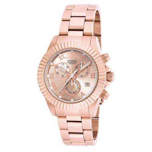 6a299da2e00 Relógio Invicta Pro Diver Feminino Ouro Rose 18959 Chronograf ...