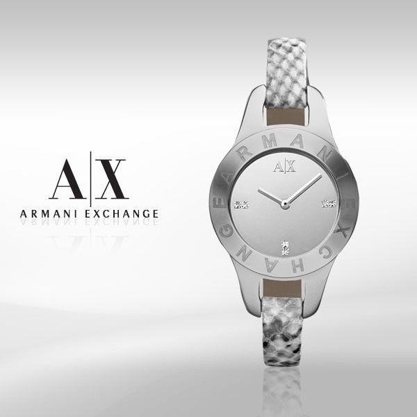 ab9a010c028 Relógio Armani Exchange Ax4128 Feminino Couro Original Garantia ...
