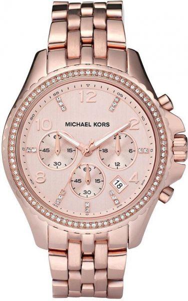 a18c0a1ec47ae Relógio Michael Kors Mk5425 Ouro Rose Swarovski Original Pro ...